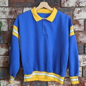 Vintage rugby style sweater